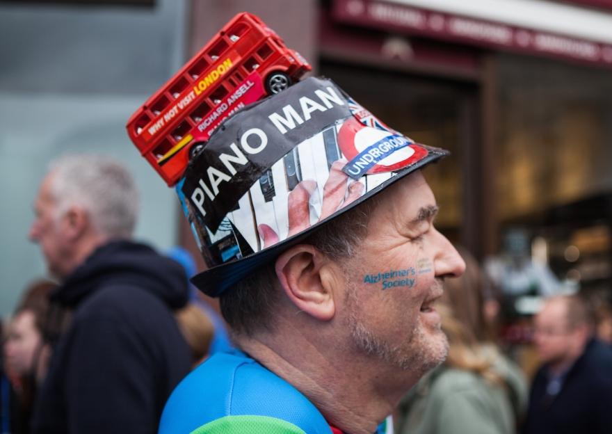 Virgin Money London Marathon Race Day. London, UK.