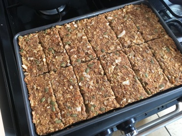 Carrot Cake Warrior Bars