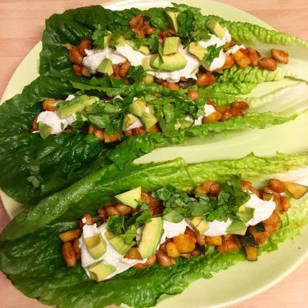 Black Bean Zucchini Tacos