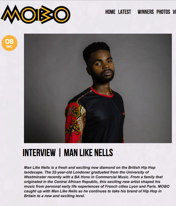 Man Like Nells MOBO