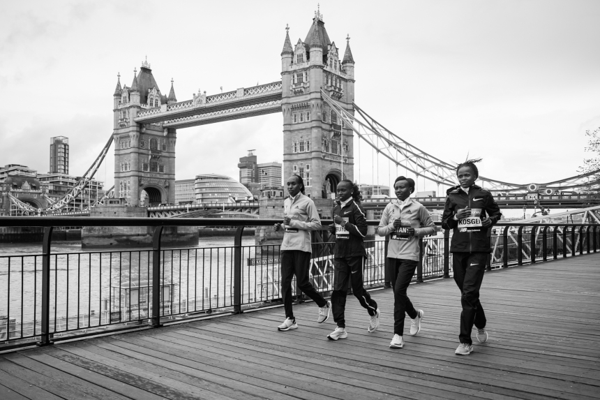 Virgin Money London Marathon Press Day. London, UK.