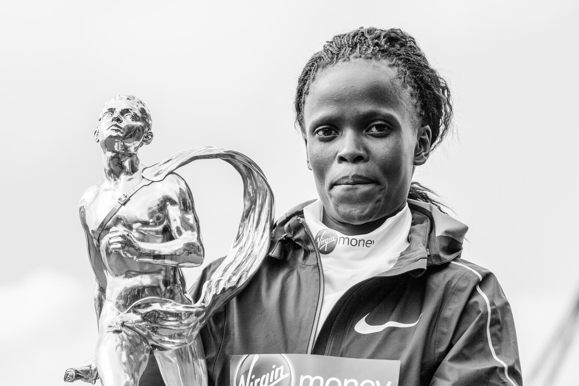 Virgin Money London Marathon Winners Press Day. London, UK.